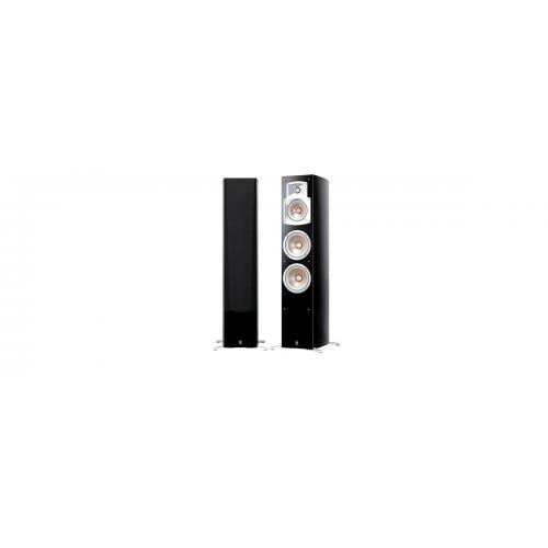 Стерео комплект Yamaha NS-555 Piano+Yamaha RX-V485 Black
