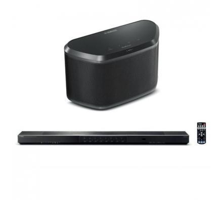 Комплект из Yamaha YSP-1600 Black+Yamaha WX 030 Black