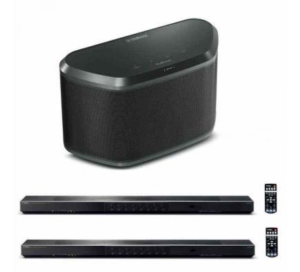 Комплект из Yamaha YSP-1600 Black+Yamaha WX-030 Black+Yamaha YSP-1600 Black