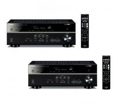 Комплект из Yamaha RX-V483 Black+Yamaha RX-V483 Black