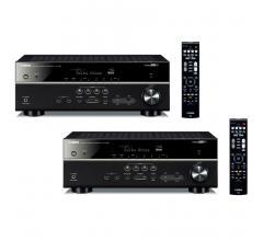 Комплект из Yamaha RX-V583 Black+Yamaha RX-V583 Black