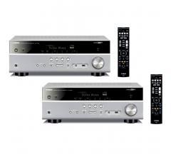 Комплект из Yamaha RX-V583 Titanium+Yamaha RX-V583 Titanium