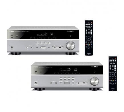 Комплект из Yamaha RX-V485 Titanium+Yamaha RX-V485 Titanium