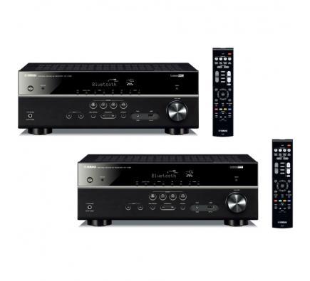 Комплект из Yamaha RX-V385 Black+Yamaha RX-V385 Black