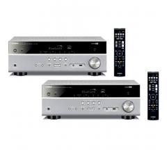 Комплект из Yamaha RX-V385 Titanium+Yamaha RX-V385 Titanium
