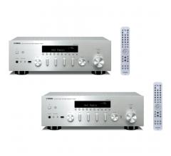 Комплект из Yamaha R-N602 Silver+Yamaha R-N602 Silver