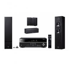 Yamaha Movie SYSTEM: RX-V379 + NS-F51 + NS-P51 Black
