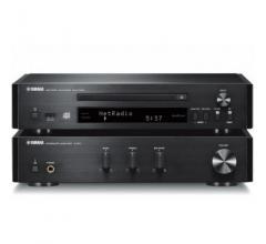 Yamaha MCR-N670 Black without acoustics