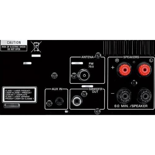 Yamaha MCR-332 Silver-Piano Black
