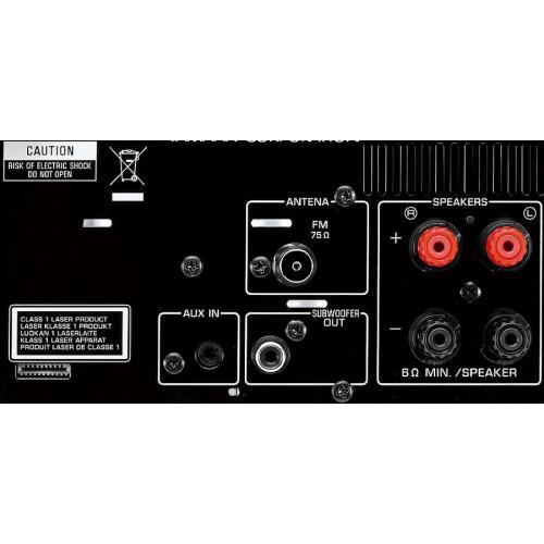Yamaha MCR-232 Black-Brown